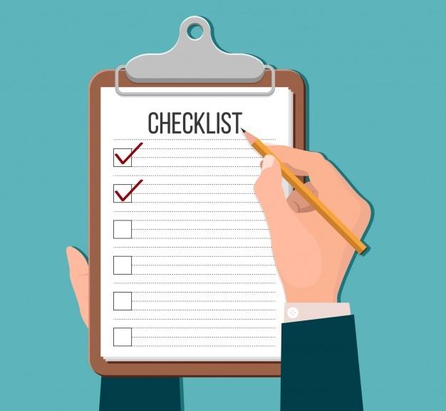 Checklist of Advertising Design