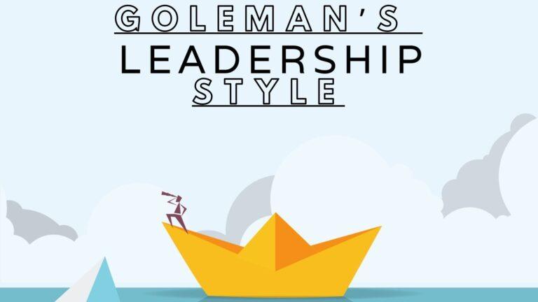 Goleman leadership style