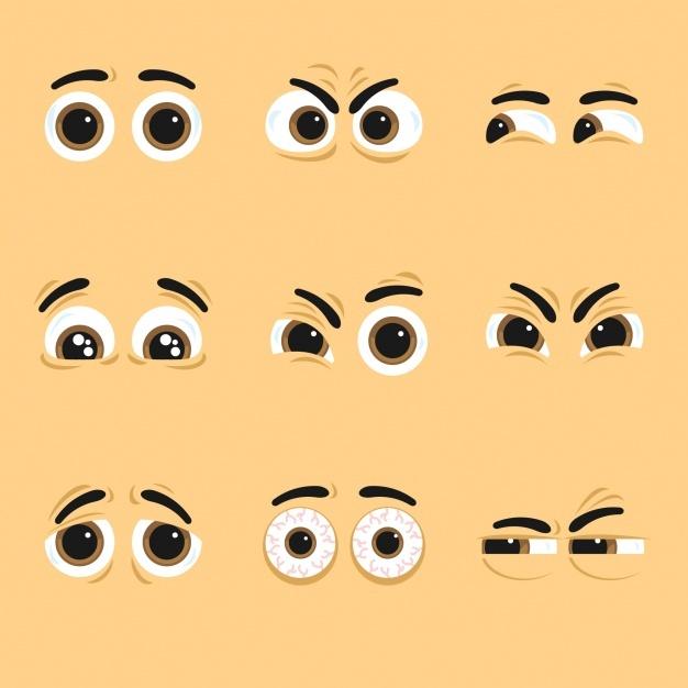How our eyes speak