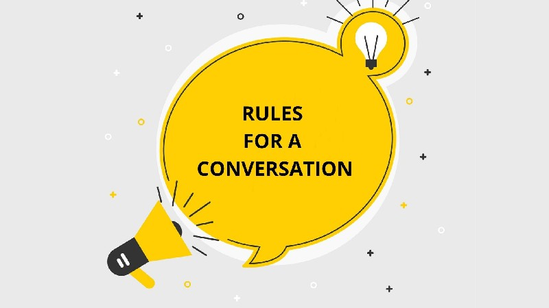 Rules that are Necessary for a Conversation Skills